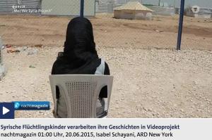 Me We Syria Project Mit der Kamera gegen das Trauma tagesschau.de